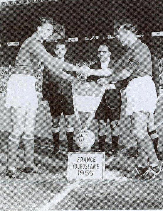 france-vs-jugoslavia-friendly-match-1955