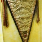 Picture took at Museo del Calcio where pennant is on display - NICE