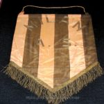 Embroidered pennant