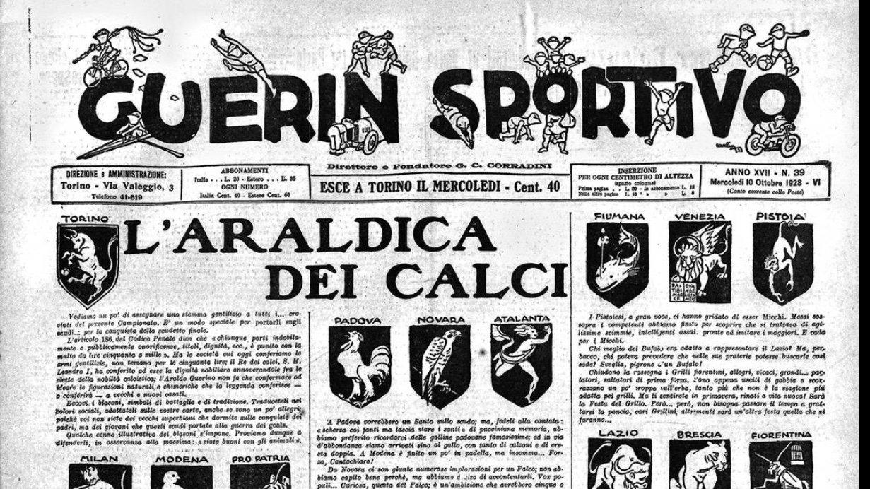 """L'Araldica dei Calci, la pacifica """"rivoluzione"""" di Carlin"""