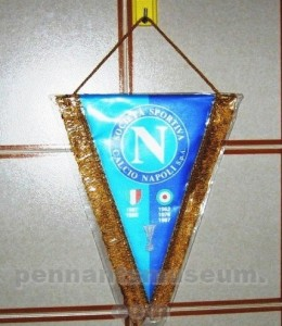 Printed pennant with club honours in use in the 2000s