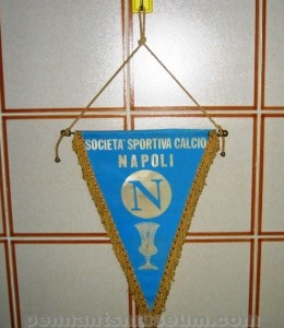 Printed pennant issued in the 70s following victory of the Italian F.A. cup