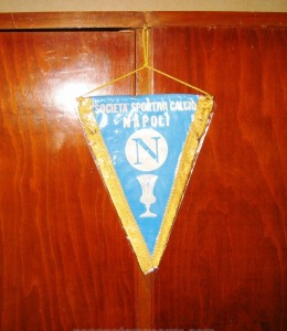 Printed pennant issued for the victory of the Italian F.A. cup in 1976