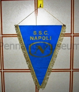 Printed pennant in use in late 70s