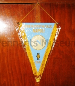 Printed pennant issued for celebrating victory in the Italian F.A. cup in 1976
