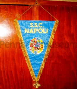 Printed pennant in use in the 70s