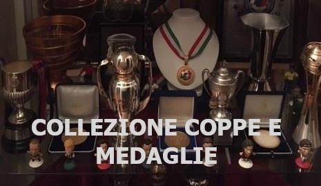 Collezionista di coppe e medaglie di calcio