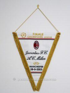 Juventus – Milan, Manchester 28 Maggio 2003