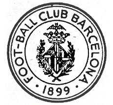 Il primo stemma del Barcellona in uso dal 1899 al 1906