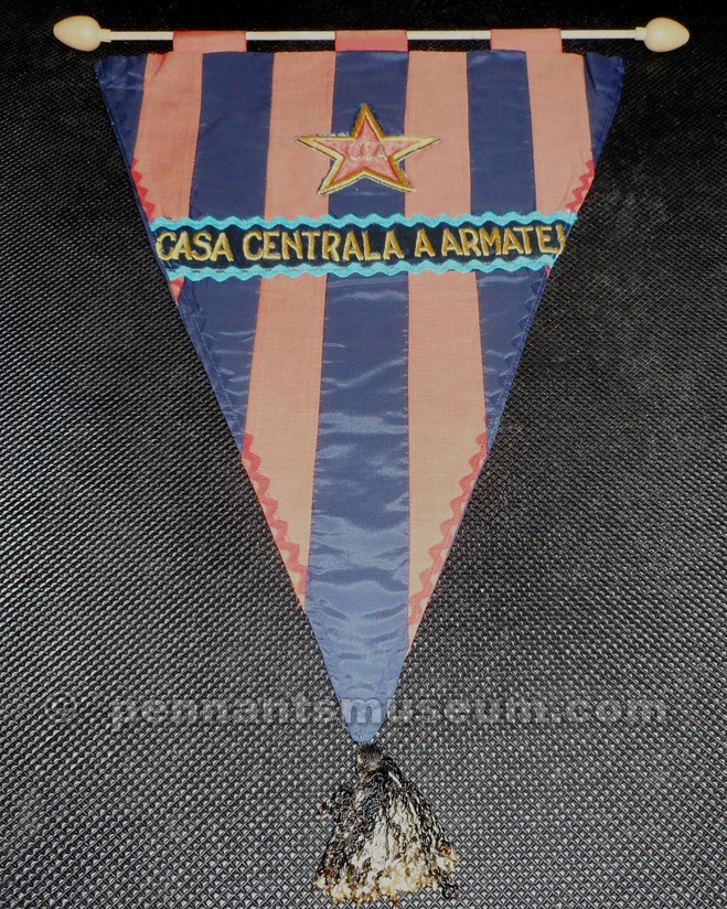 Gagliardetto del CCA, precursore della Steaua Bucarest