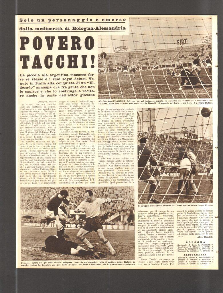 """La cronaca dell'incontro su """"Calcio e Ciclismo Illustrato"""""""