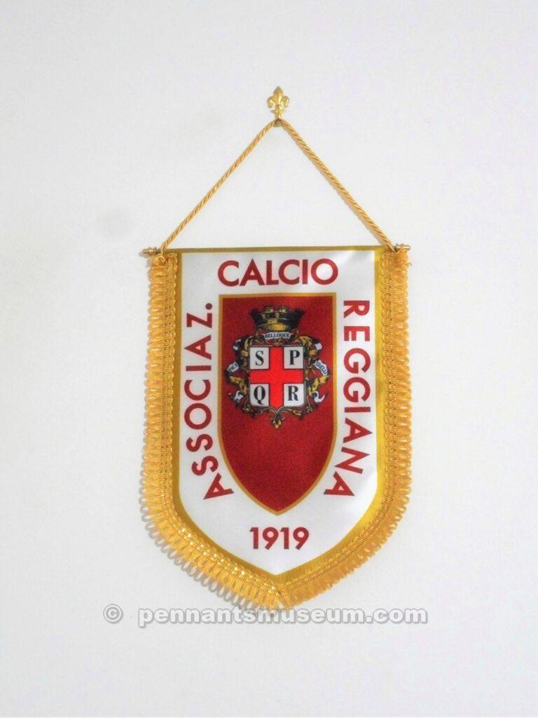 Gagliardetto del centenario con lo stemma civico