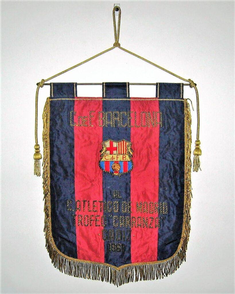 barcelona c. de f. trofeo carranza 1961