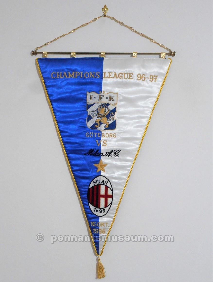 GOTHENBURG IFK – MILAN CHAMPIONS LEAGUE 1996 – 1997