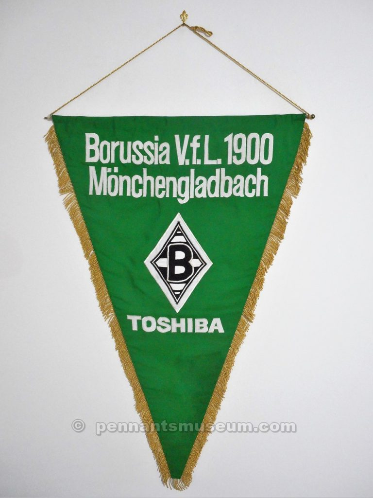 Embroidered pennant issued for the season 2012-2013
