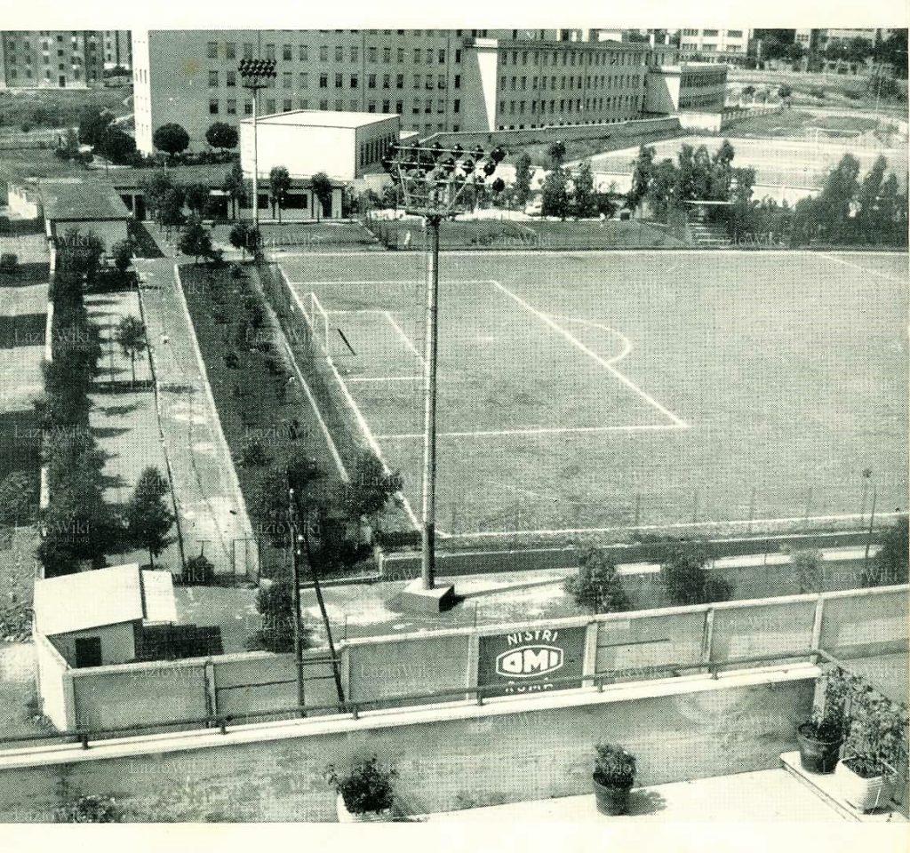 Il Campo Nistri a Tor Marancia nel 1961 (Fonte Laziowiki)