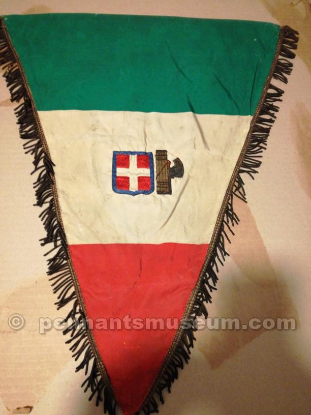 Retro del gagliardetto del Torino del 1932